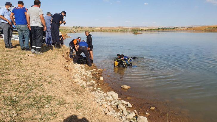 Kırşehir'de feci olay! Eşinin gözleri önünde boğuldu