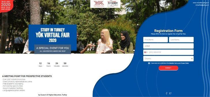 """Trakya Üniversitesi, """"Study In Turkey Yök Sanal Fuarı 2020""""de uluslararası öğrencilerle buluşacak"""