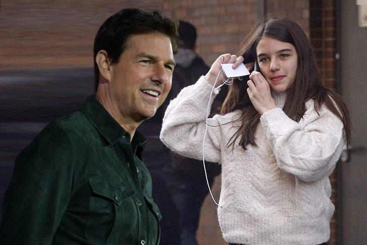 'Tom Cruise'un kızı Suri Cruise babasının soyadını kullanmak istemiyor'