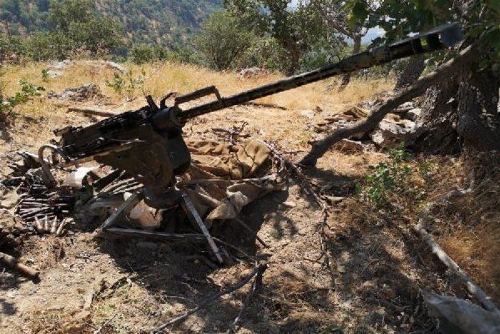 MSB duyurdu: Pençe-Kaplan Operasyonu'nda çok sayıda silah ve mühimmat ele geçirildi
