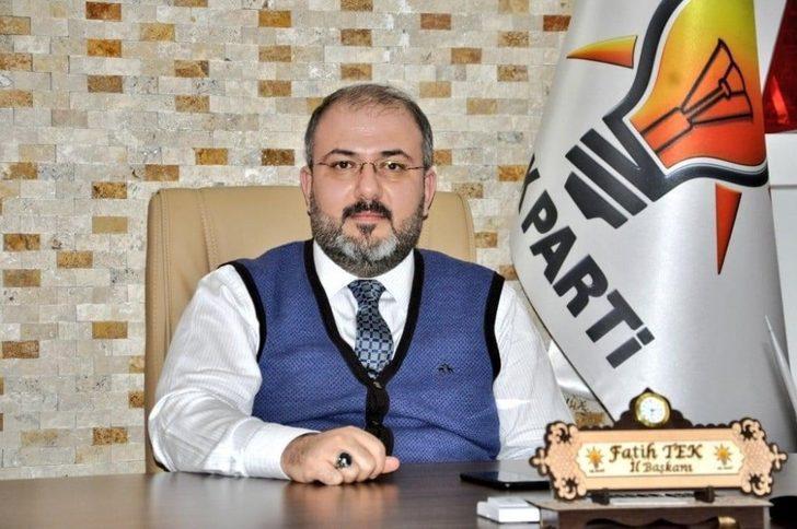 """AK Partili Tek,""""Huzur ortamımızı bozmayı amaçlayanları en sert biçimde kınıyoruz"""""""