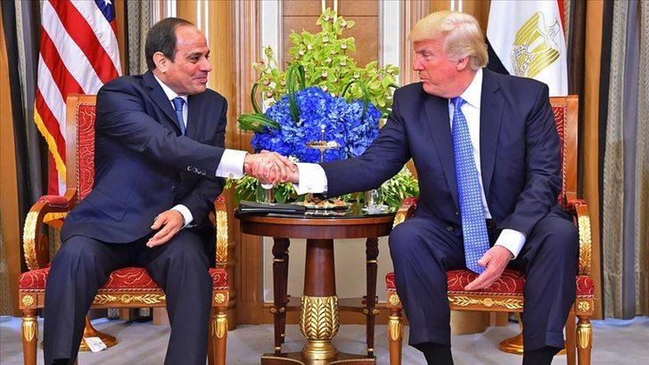 Trump ve Sisi, Libya'da ateşkesi sürdürmek için anlaştı