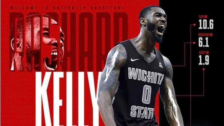 Rashard Kelly, Gaziantep Basketbol'da
