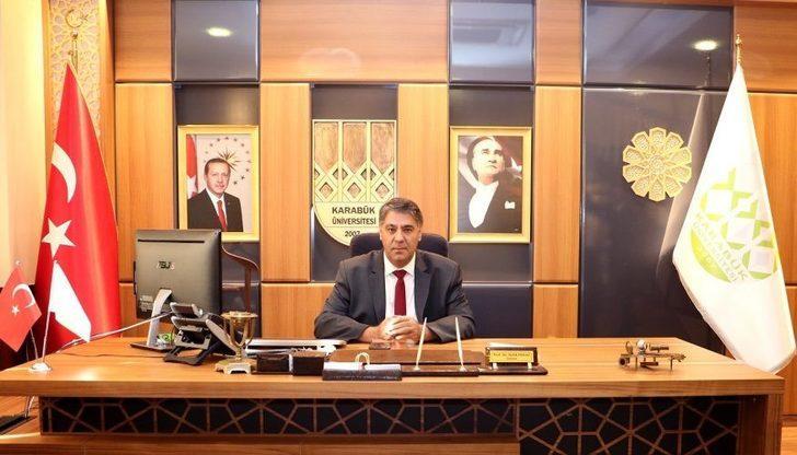 """KBÜ Rektörü Polat: """"Çok kültürlü bir ortama tüm öğrencileri davet ediyorum"""""""