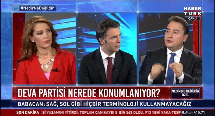 Son dakika: Ali Babacan'dan canlı yayında flaş açıklamalar