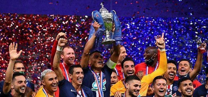 PSG, Fransa Kupası'nı tek golle kazandı! PSG 1-0 St. Etienne (Maç Sonucu)