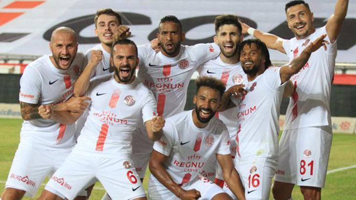 Antalyaspor'dan 11 maçlık yenilmezlik serisi