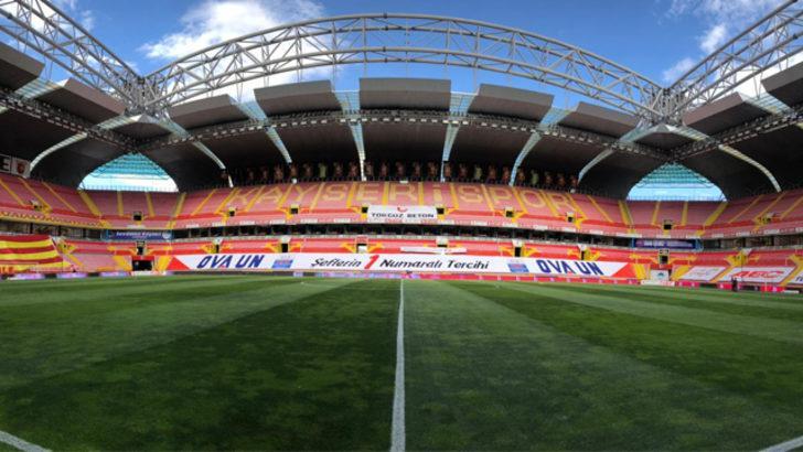 Kadir Has Stadyumu sezonun son maçına hazır