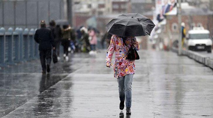 Meteoroloji'den 3 il için uyarı! Gök gürültülü sağanak geliyor