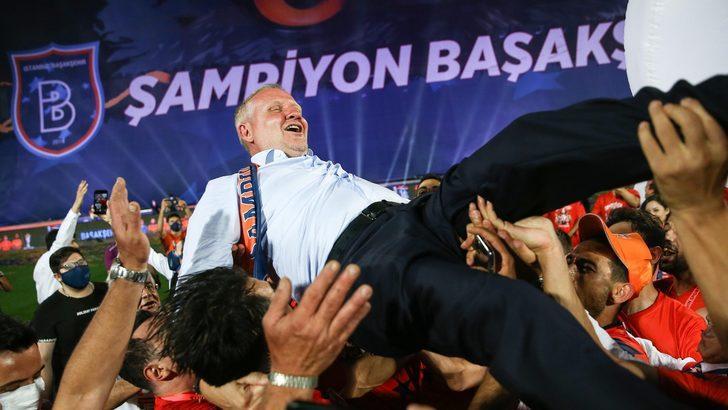 Başakşehir: Süper Lig'in 6. şampiyonu