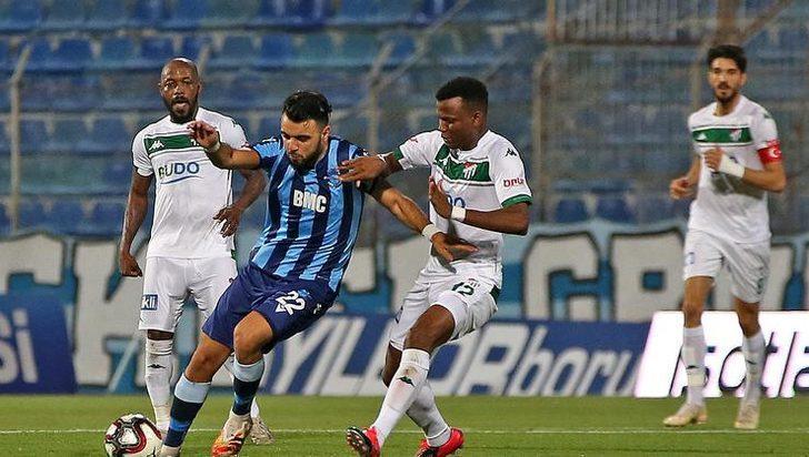 Adana Demirspor 4-1 Bursaspor (Maç Sonucu)
