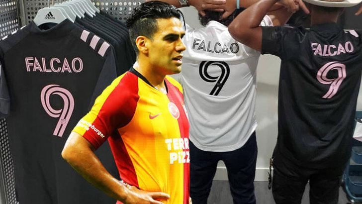 Inter Miami, Falcao'nun formalarını satışa çıkarttı!