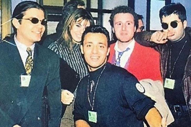Ufuk Yıldırım'dan 90'lar paylaşımı! Kenan Doğulu, Defne Samyeli ve Mustafa Sandal bir arada
