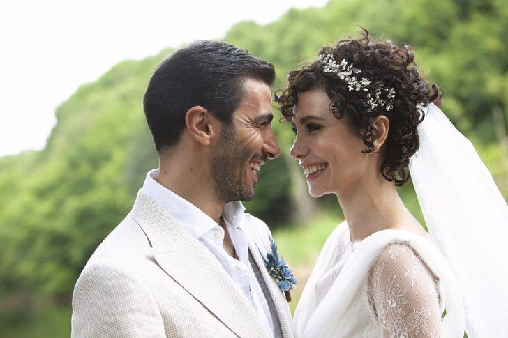 Oyuncu Songül Öden ile Arman Bıçakçı evlendi