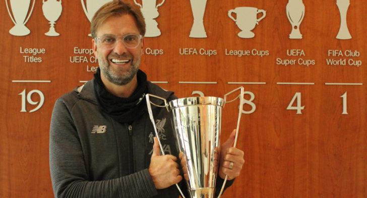 İngiltere'de yılın teknik direktörü Jurgen Klopp