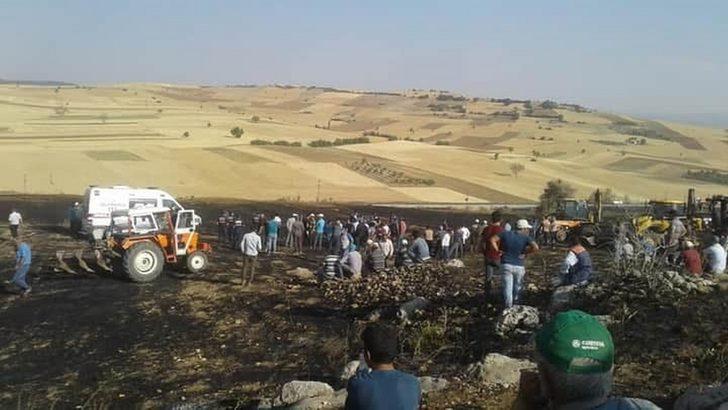 Acı olay: Yangında traktörünü kurtarmak isterken hayatını kaybetti