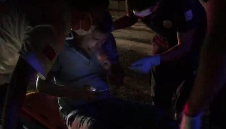 Canını hiçe saydı! Aydın'da trafik kazasında yaralanan şahsın tavrı pes dedirtti
