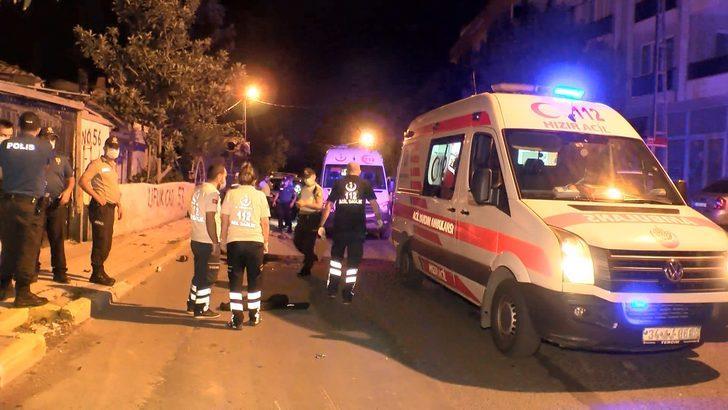 Sancaktepe'de polisten kaçan motosiklet sürücüsü kazada öldü
