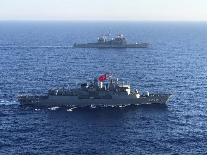 Türkiye ve ABD'den Akdeniz'de ortak tatbikat