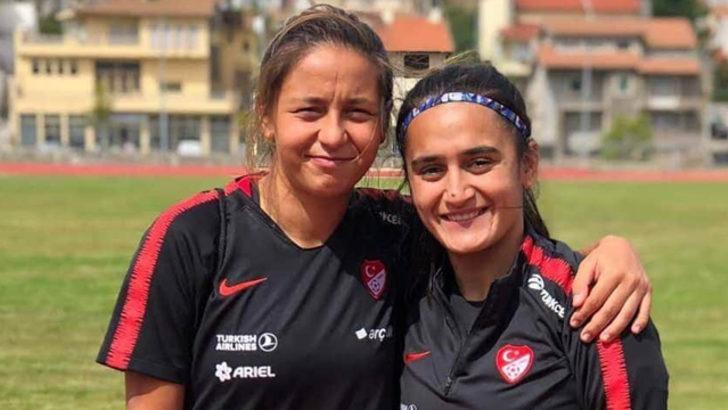 Denizli'de 2 kadın futbolcuya milli davet