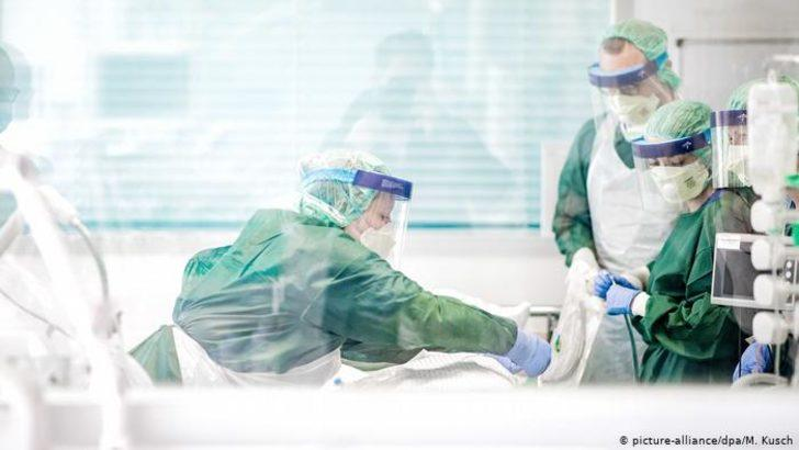 Korkunç araştırma: Almanya'da koronavirüs hastalarının 5'te biri öldü