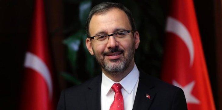Bakan Kasapoğlu'ndan Trabzonspor için tebrik mesajı