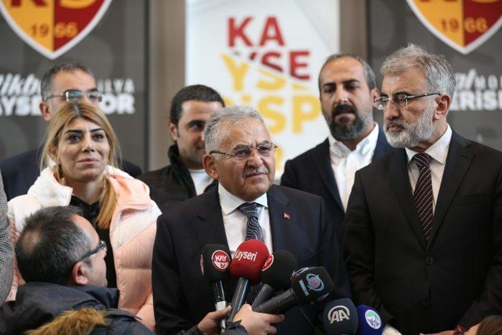 Kayseri'de 'Kayserispor' sevinci yaşanıyor