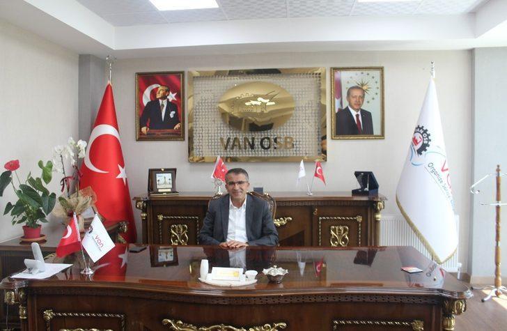 Van OSB Başkanı Aslan'dan Kurban bayramı mesajı