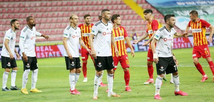 Kayserispor 8 farklı takımı yendi
