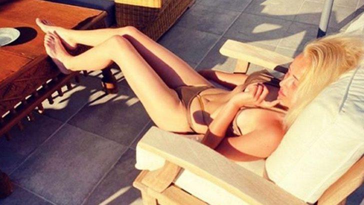 Helin Avşar'ın bikinili paylaşımına abla yorumu!