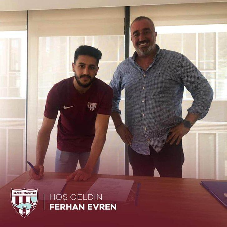 Bandırmaspor'a Galatasaray'dan iki transfer