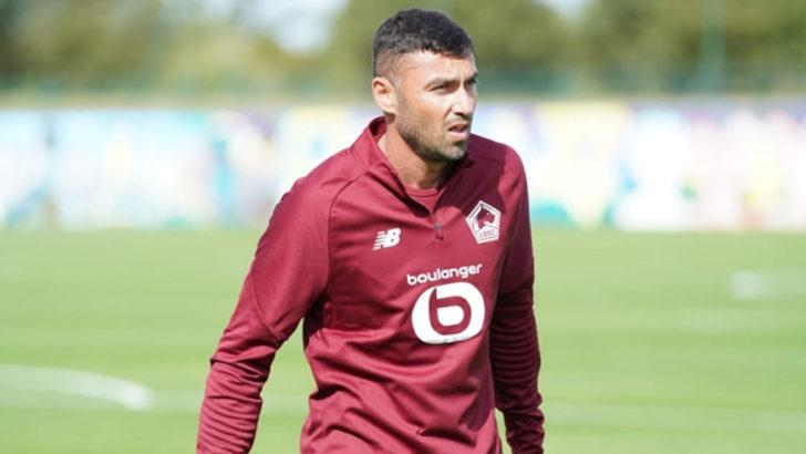 Beşiktaş'tan ayrılan Burak Yılmaz resmen Lille'de