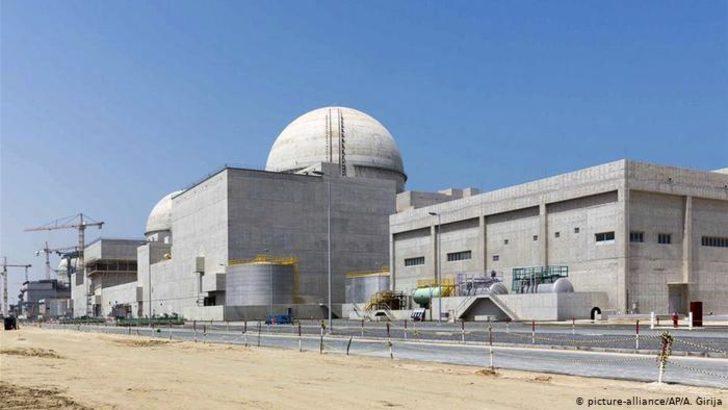 Arap dünyasının ilk nükleer santrali BAE'de devreye girdi