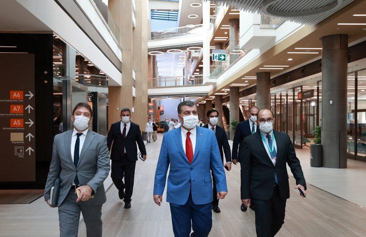Ziyaretin ardından 81 il ile toplantı! Sağlık Bakanı Fahrettin Koca paylaştı