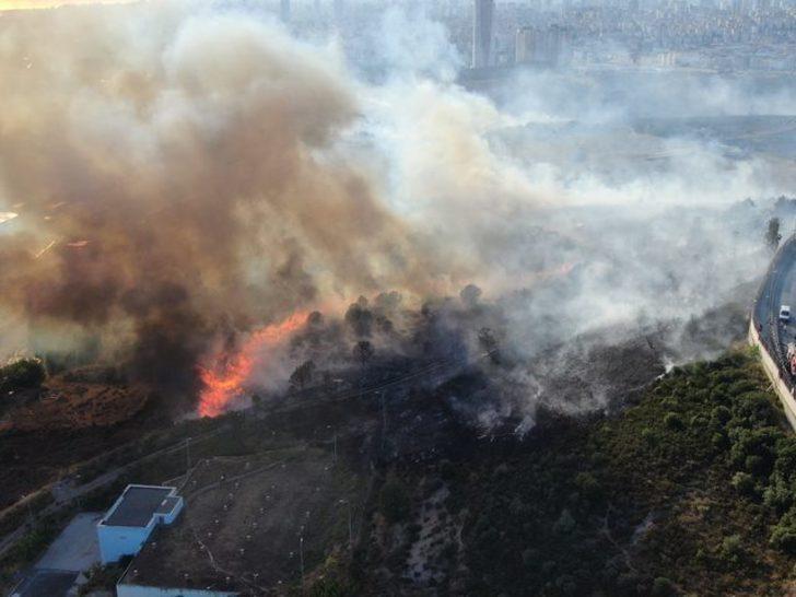 MSB'den askeri arazide çıkan yangınla ilgili açıklama: 8 er dumandan etkilendi