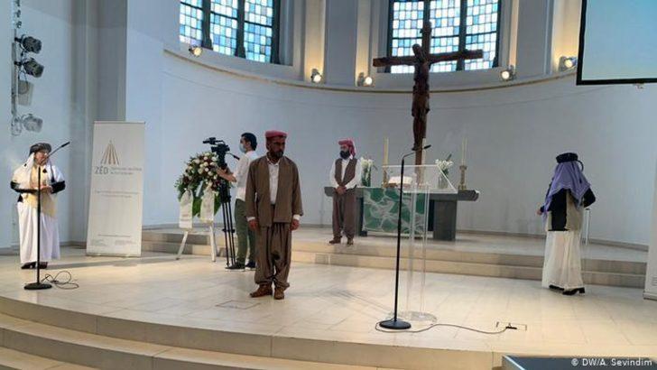 Almanya'da Ezidi Soykırımı'nı anma töreni