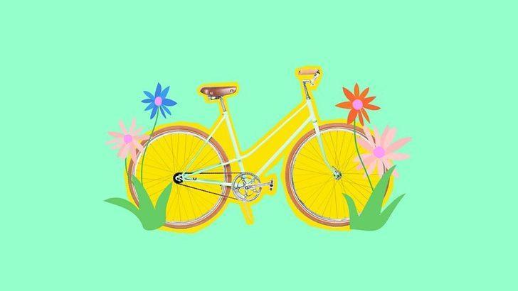 Bisiklette rahat etmek isteyen kadınlara altı tavsiye