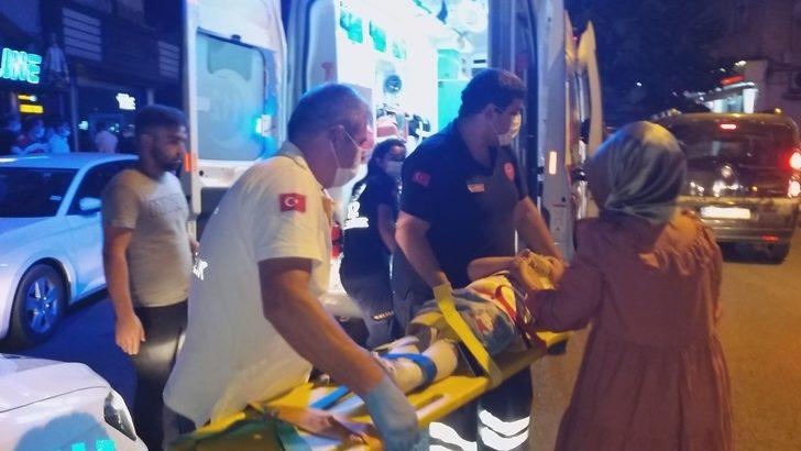 Zonguldak'ta yola fırlayan çocuğa otomobil çarptı