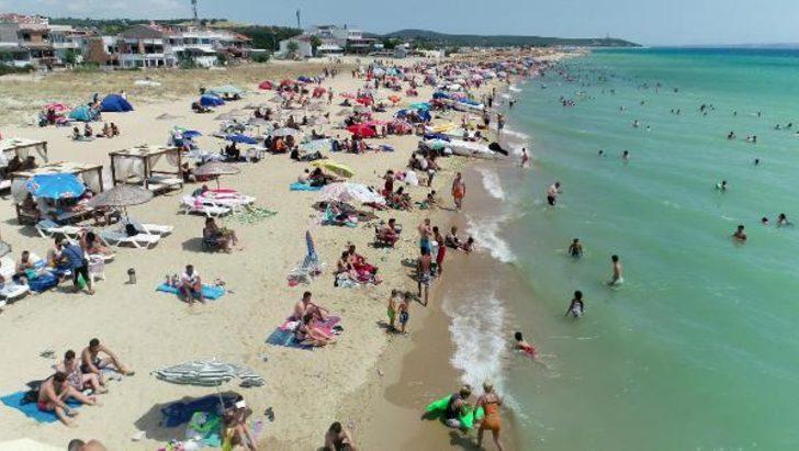 Saros Körfezi'ne tatilci akını! Nüfus 100 bini aştı