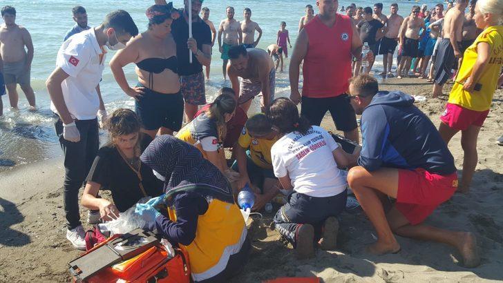 Zonguldak'ta denize giren 15 yaşındaki çocuk boğuldu