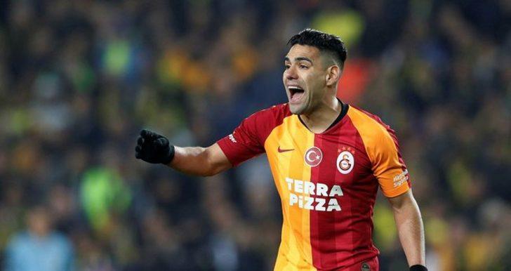 Galatasaraylı Falcao'dan ayrılık açıklaması