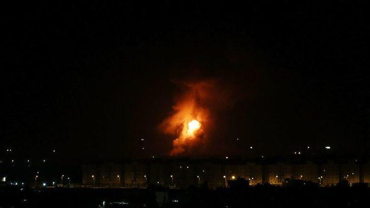 İsrail'den Şam'ın güneyindeki rejim ordusu hedeflerine saldırı