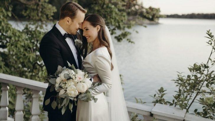 Sanna Marin: 34 yaşındaki Finlandiya Başbakanı, futbolcu Markus Raikkonen'le evlendi