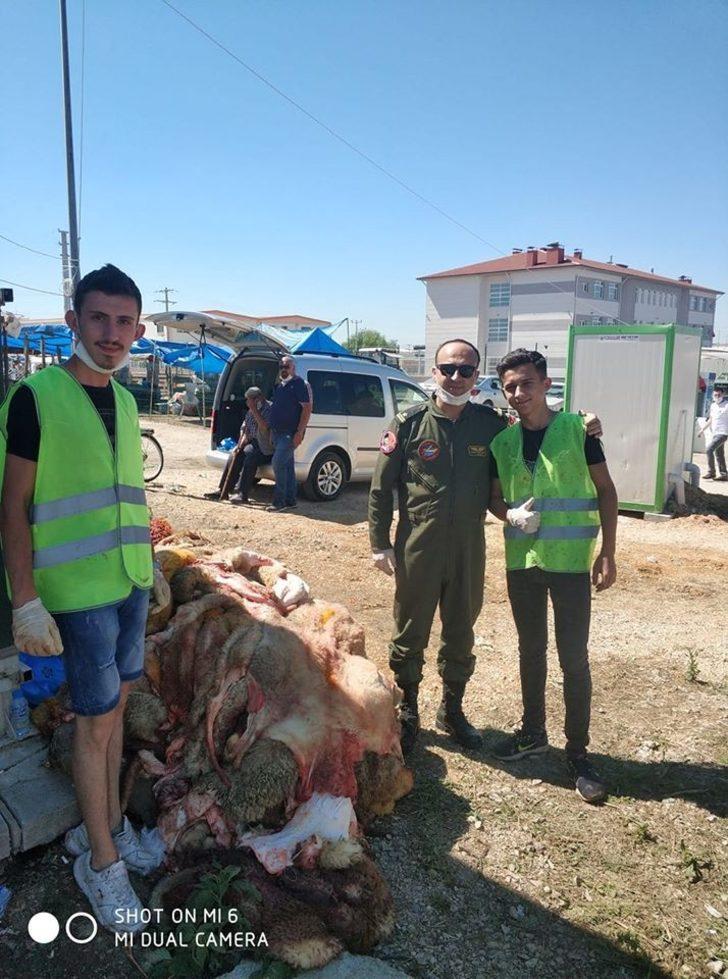 THK Lüleburgaz Şubesi, Kurban bayramında deri topladı