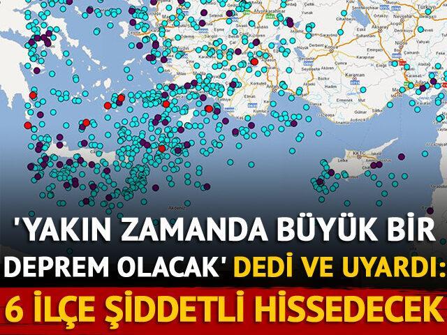 Korkutan açıklama: Antalya'da 6 ilçe daha şiddetli hissedecek