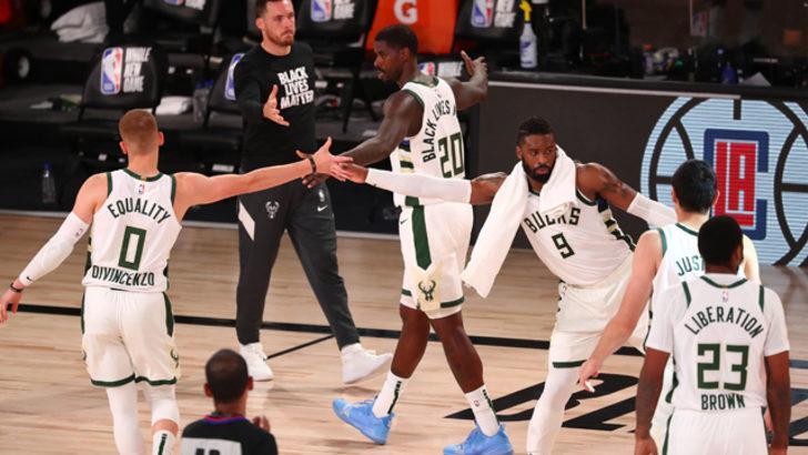 Milwaukee Bucks, NBA Doğu Konferansı liderliğini garantiledi