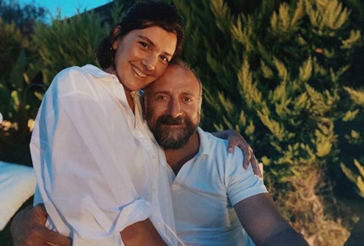 Bergüzar Korel ve Halit Ergenç'ten romantik pozlar! Evlilik yıl dönümlerini kutladılar