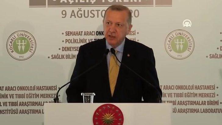 Cumhurbaşkanı Erdoğan'dan maske uyarısı