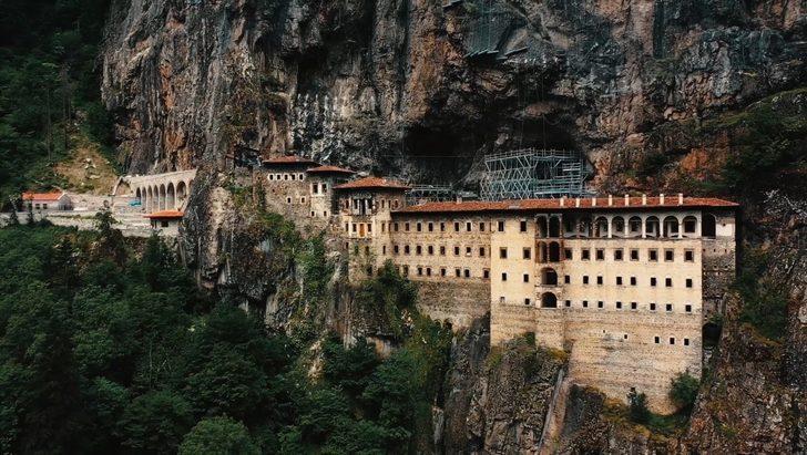 Sümela Manastırı'nda 5 yıl aradan sonra ilk ayin 15 Ağustos'ta! Bartholomeos katılamayacak
