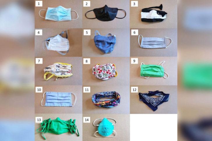 Bilim insanları 14 tip farklı maske denedi! Hangisi iyi?